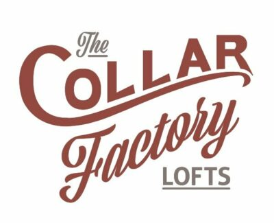 logo for the Collar Factory Lofts