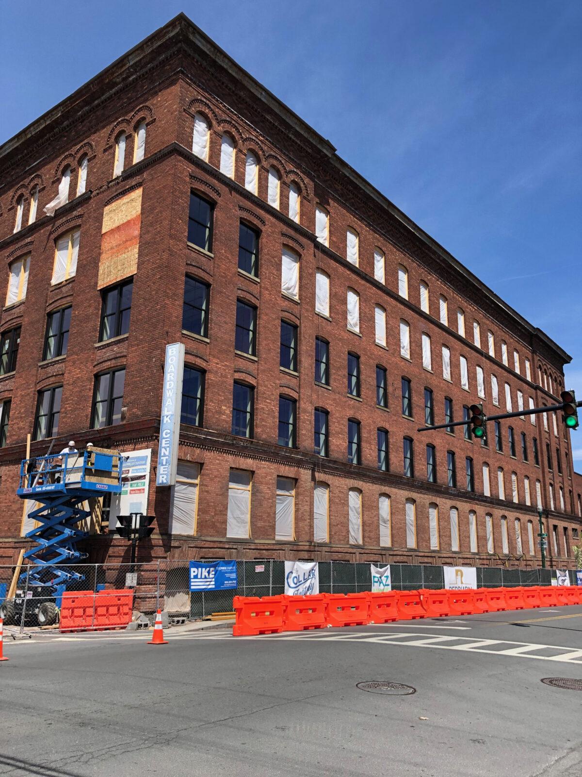 Photo of Collar City Lofts building